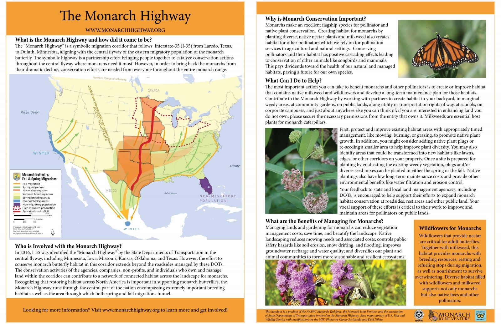 Monarch Highway Handout